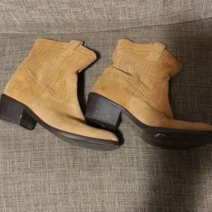 Lavorazione size 8 ankle boots leather